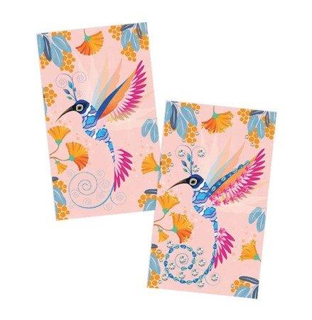 Zestaw artystyczny Czarodziejskie cyrkonie Piękne ptaki, Janod