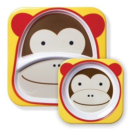 Zestaw jedzeniowy Zoo Małpa